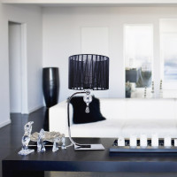 AZzardo Impress Table Black - Stojace lampy