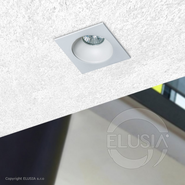 AZzardo Hugo 1 White Downlight -