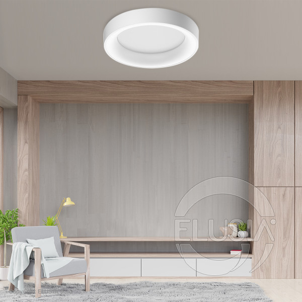 AZzardo Sovana Top 55 White Dimmable -